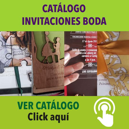 Catalogo de Invitaciones de Boda