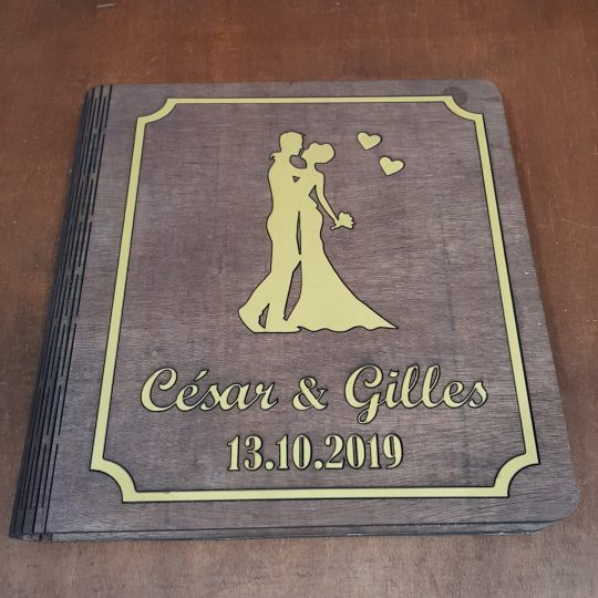 Libro para mensajes de boda